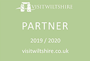 Visit Wiltshire partner logo plaque