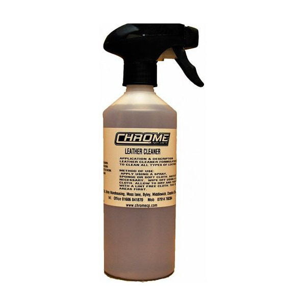 Chrome Leather Cleaner