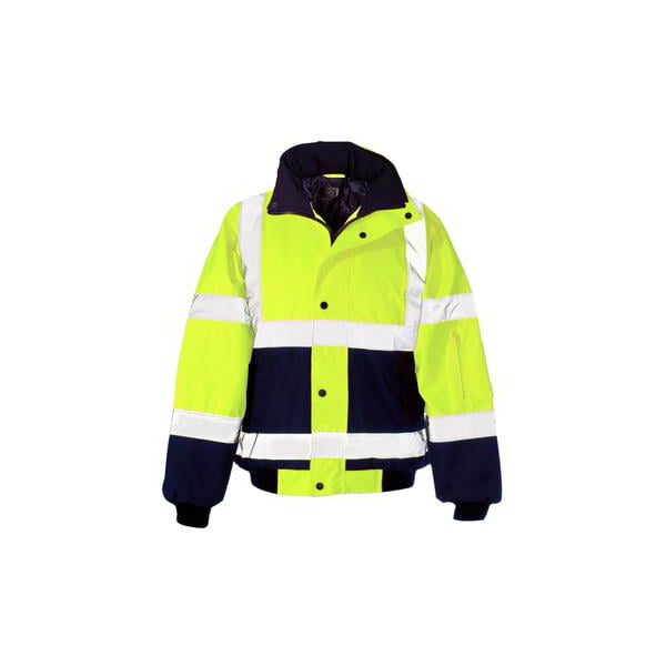 HiViz Yellow Bodywarmer