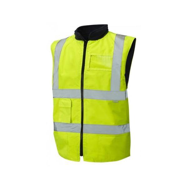 HiViz Yellow Body Warmer