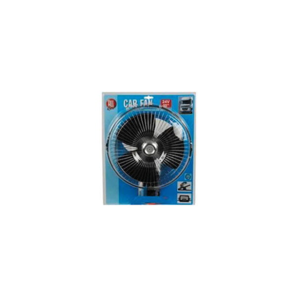 "All Ride 10"" Chrome Car Fan"