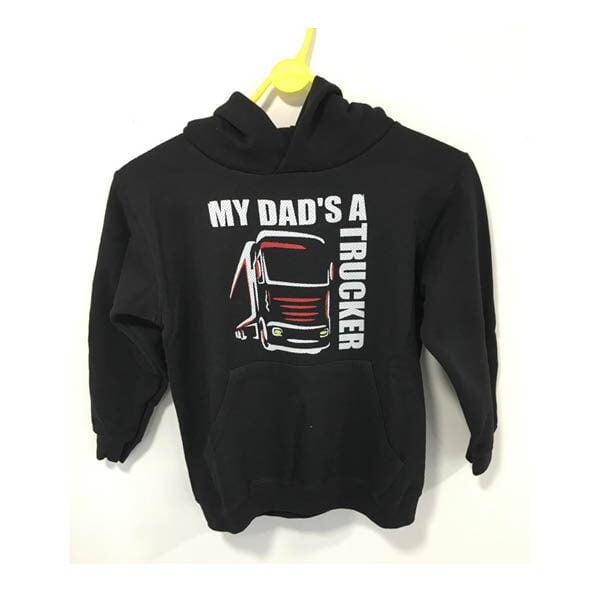 Dad hoodie black