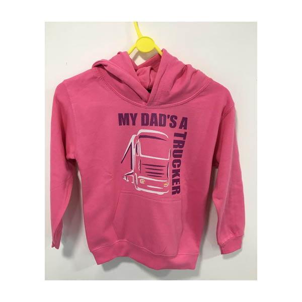 Dad hoodie pink
