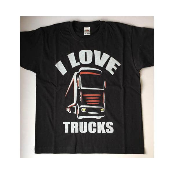 I love tucks tshirt black